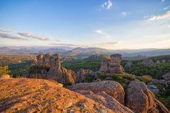 Fortaleza de Belogradchik e as rochas Fotografia de Stock Royalty Free