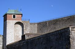 Fortaleza de Besanzón imagenes de archivo