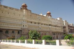 Fortaleza de Bikaner Imagen de archivo libre de regalías