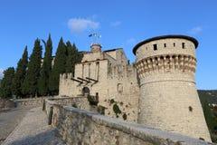 Fortaleza de Brescia Imágenes de archivo libres de regalías