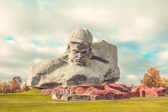 Fortaleza de Brest, Belarus Imagen de archivo
