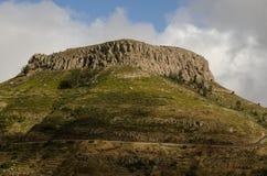Fortaleza de Chipude. stock photo