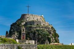 Fortaleza de Corfú Foto de archivo libre de regalías