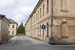 Fortaleza de Daugavpils (Letonia) Imagen de archivo libre de regalías