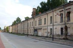 Fortaleza de Daugavpils (Letonia) Fotografía de archivo