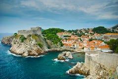 Fortaleza de Dubrovnik Fotos de archivo libres de regalías