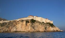 Fortaleza de Dubrovnik Fotos de Stock Royalty Free