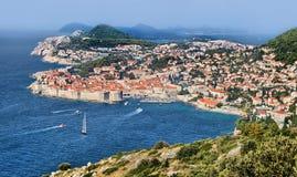 Fortaleza de Dubrovnik Fotos de Stock