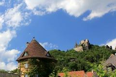 Fortaleza de Durnstein, valle de Wachau Imagen de archivo