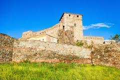 Fortaleza de Eptapyrgio em Tessalónica fotos de stock royalty free