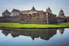 Fortaleza de Fagaras, Fagaras, Romênia Fotos de Stock