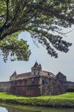 Fortaleza de Fagaras, Fagaras, Romênia Fotografia de Stock Royalty Free