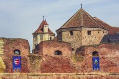 Fortaleza de Fagaras, Fagaras, Rumania Imágenes de archivo libres de regalías