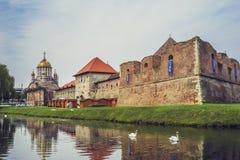 Fortaleza de Fagaras, Fagaras, Rumania Fotos de archivo