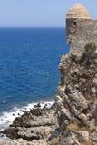 Fortaleza de Fortezza en Rethymno crete Grecia fotos de archivo libres de regalías