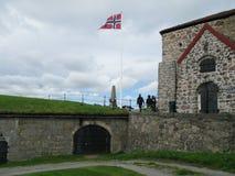Fortaleza de Fredriksten en Halden, Noruega Fotos de archivo