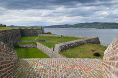 Fortaleza de George de la fortaleza, Escocia Imagenes de archivo