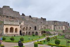 Fortaleza de Golconda en la India Fotos de archivo