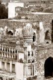 Fortaleza de Golkonda Imágenes de archivo libres de regalías