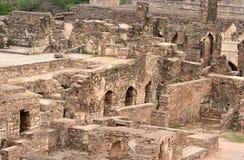 Fortaleza de Golkonda Imagen de archivo libre de regalías