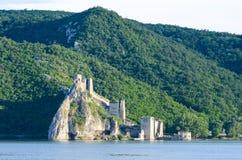Fortaleza de Golubac Fotos de Stock