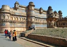 Fortaleza de Gwalior Imágenes de archivo libres de regalías
