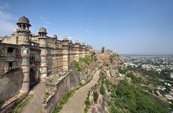 Fortaleza de Gwalior - la India Foto de archivo libre de regalías