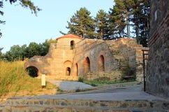 Fortaleza de Hisarlaka por la tarde Fotografía de archivo