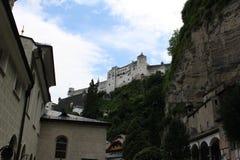 Fortaleza de Hohensalzburg Foto de archivo