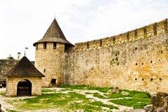 Fortaleza de Hotyn, Ucrania occidental Imagen de archivo