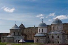 Fortaleza de Ivangorod Foto de archivo libre de regalías
