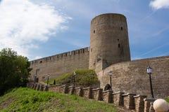 Fortaleza de Ivangorod Foto de archivo