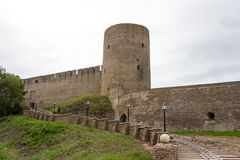 Fortaleza de Ivangorod Imagen de archivo libre de regalías