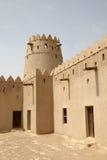 Fortaleza de Jahili del Al en Al Ain, Abu Dhabi Imagenes de archivo