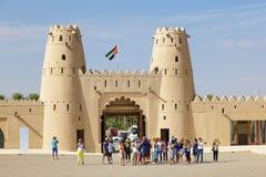 Fortaleza de Jahili del Al en Al Ain, UAE Fotos de archivo libres de regalías
