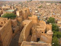 Fortaleza de Jaisalmer Imagenes de archivo