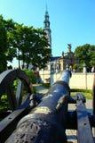 A fortaleza de Jasna Gora e de um canhão Imagens de Stock