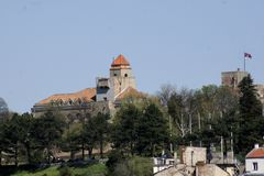 Fortaleza de Kalemegdan imagenes de archivo
