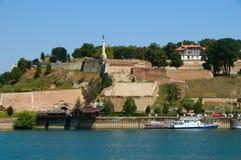 Fortaleza de Kalemegdan Fotografía de archivo libre de regalías