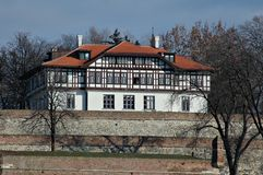 Fortaleza de Kalemegdan, Belgrado Foto de Stock Royalty Free