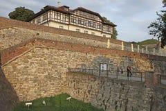 Fortaleza de Kalemegdan, Belgrado, Sérvia Fotografia de Stock