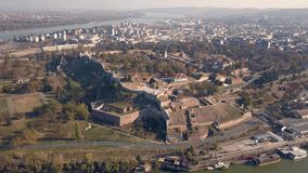 Fortaleza de Kalemegdan em Belgrado filme