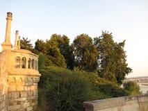 Fortaleza de Kalemegdan em Belgrado no verão foto de stock