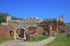 Fortaleza de Kalemegdan en Belgrado fotos de archivo