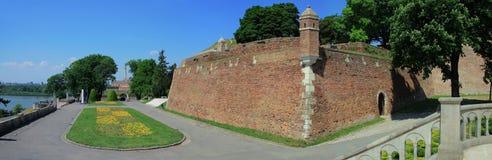 Fortaleza de Kalemegdan en Belgrado Imagenes de archivo