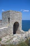 Fortaleza de Kaliakra del cabo Foto de archivo
