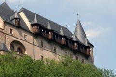 Fortaleza de Karlstein, República Checa Imágenes de archivo libres de regalías
