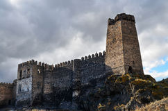 Fortaleza de Khertvisi Imagens de Stock Royalty Free