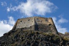 Fortaleza de Khertvisi Imagem de Stock