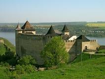 Fortaleza de Khotyn Fotografía de archivo libre de regalías